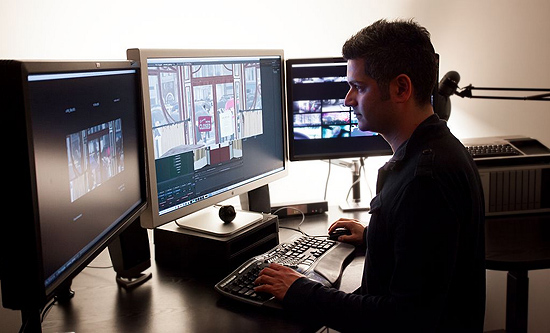 Farhez Rayani, Lighting Director, Pixar Animation Studios | Photo Credit and Clips courtesy of Disney•Pixar.