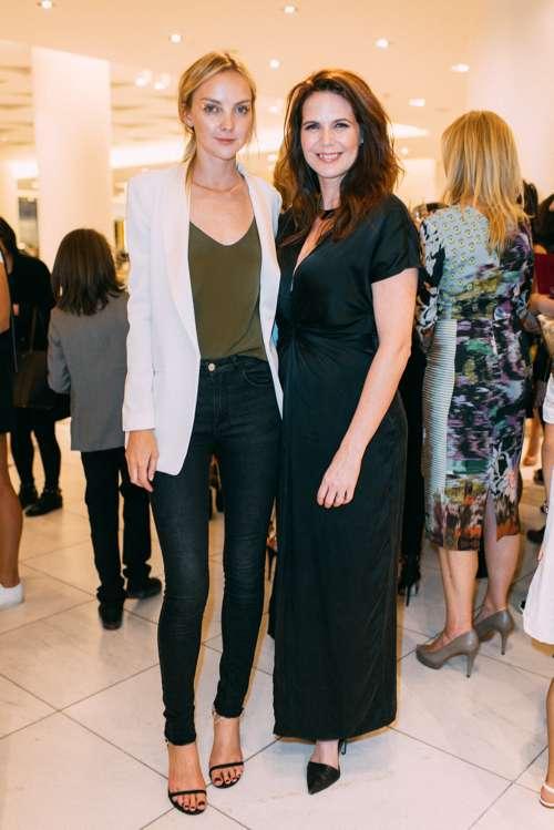 Fashion Model Heather Marks and Treana Peake