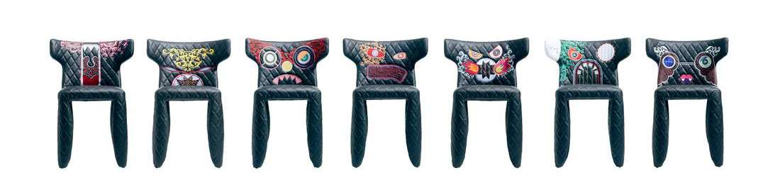Monster Chairs by Marcel Wanders for Cybex.