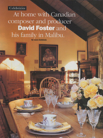 David Foster Home